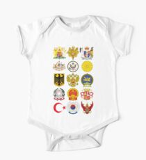 Coat of Arms  One Piece - Short Sleeve