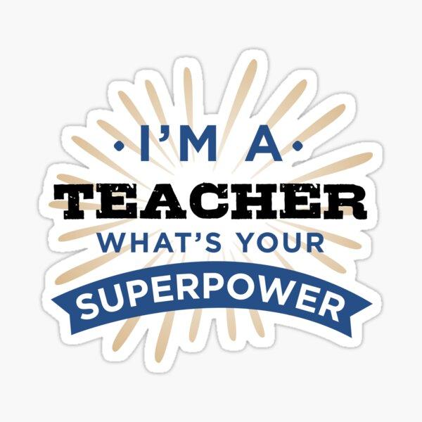 Super Teacher  Sticker
