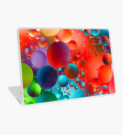 Oil and Water Laptop Skin