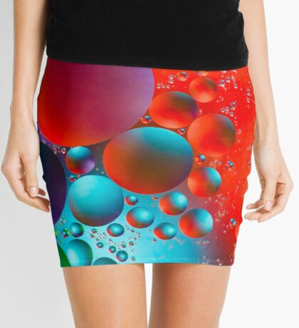 Oil and Water Mini Skirt