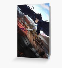 Fall from the Moving Castle Greeting Card