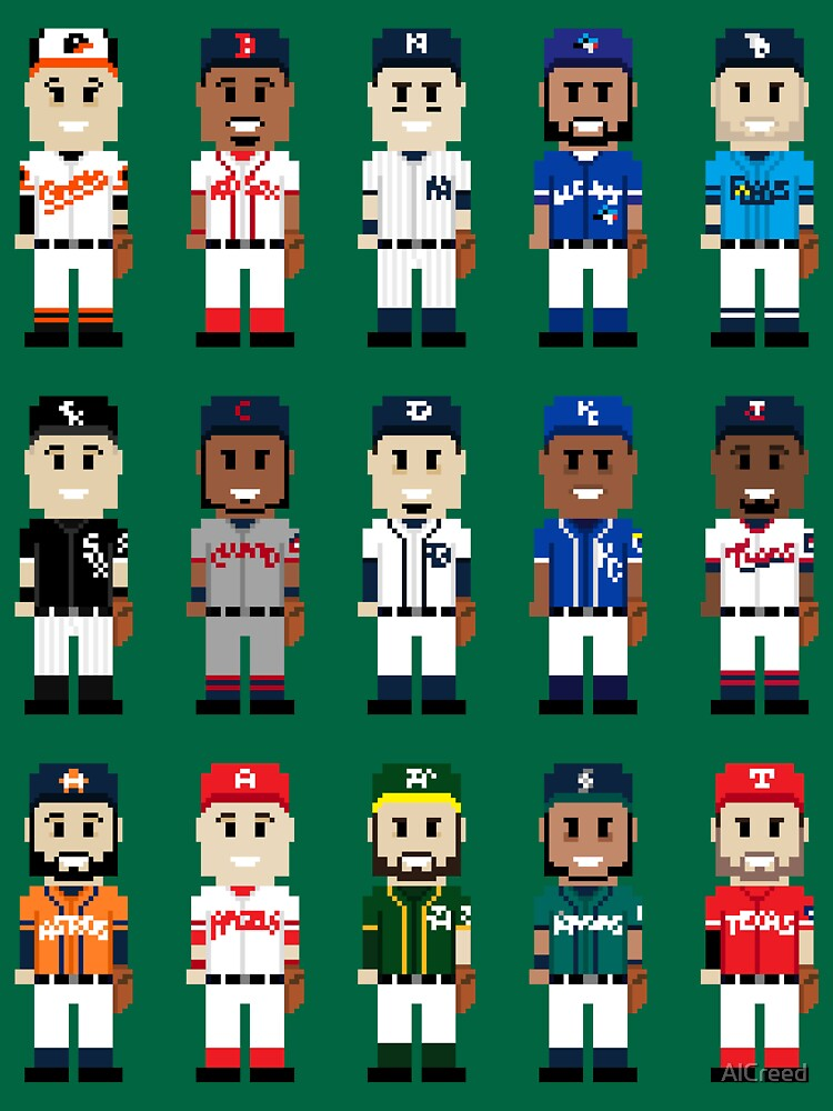 8-Bit American Baseball by AlCreed