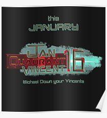 Jan Quadrant Vincent 16 - Michael Down Your Vincents Poster