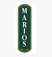 Marios south side saloon Photographic Print
