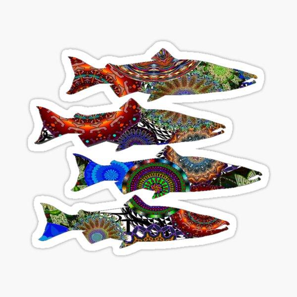 Salmon Delight Sticker