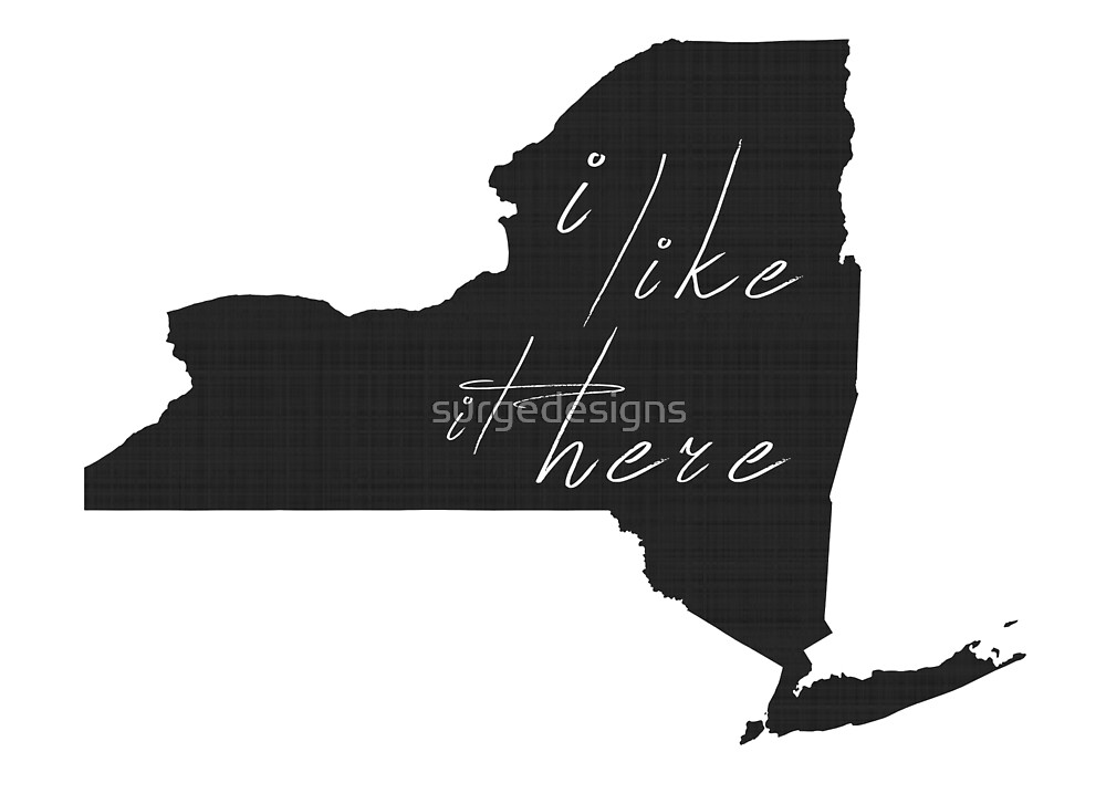 I Like it Here New York by surgedesigns