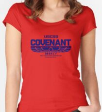 USCSS Covenant-Inspired by Alien Women's Fitted Scoop T-Shirt