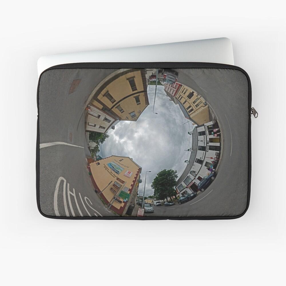 Carrick Crossroads, Donegal - Sky In Laptop Sleeve