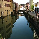 Annecy, Haute-Savoie. France by hans p olsen