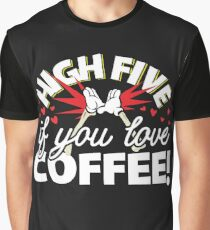 If You Love Coffee Trending Soft Screen Printed Summer Graphic Gift Tshirt Graphic T-Shirt