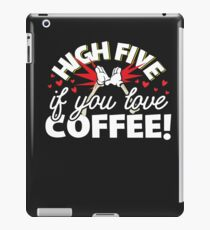 If You Love Coffee Trending Soft Screen Printed Summer Graphic Gift Tshirt iPad Case/Skin