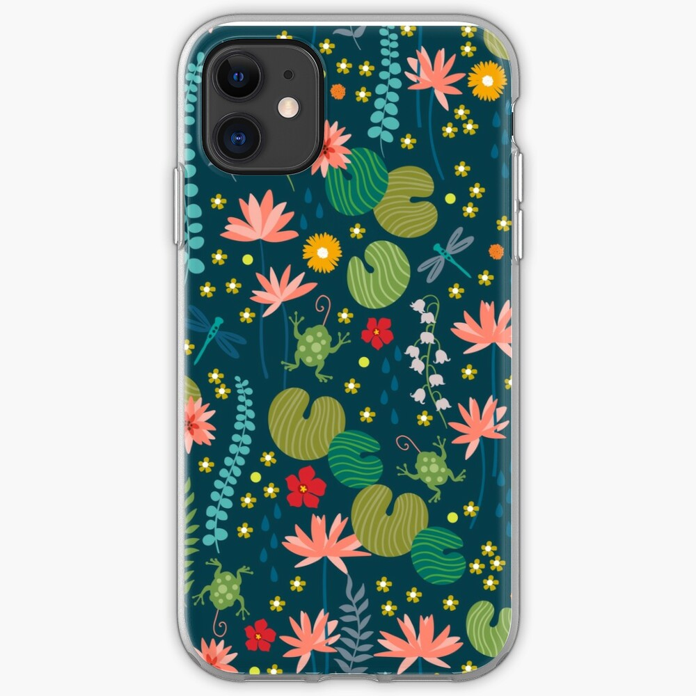Lily Pad iPhone Soft Case