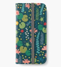 Lily Pad iPhone Wallet/Case/Skin