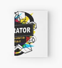 DECORATOR - NO BODY KNOWS Hardcover Journal