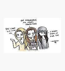Mean Girls - Grounder Version Photographic Print