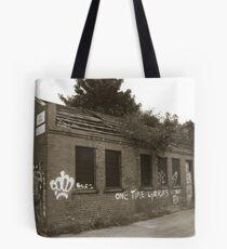 Old Railway building Tote Bag