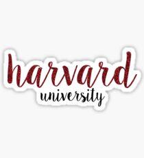 Harvard Custom Sticker