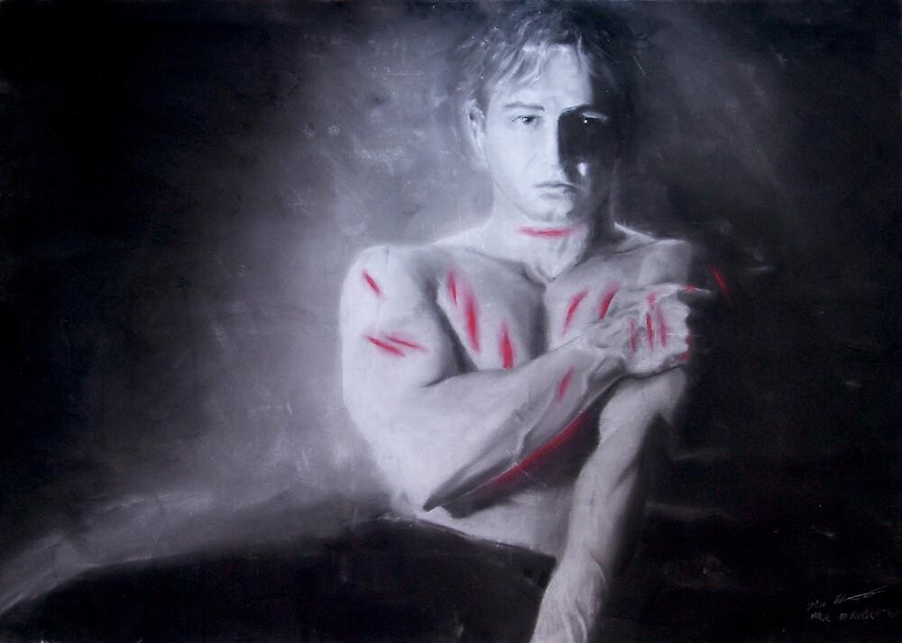 Blood From The Machine (Sanguis Ex Machina) by pauldrobertson
