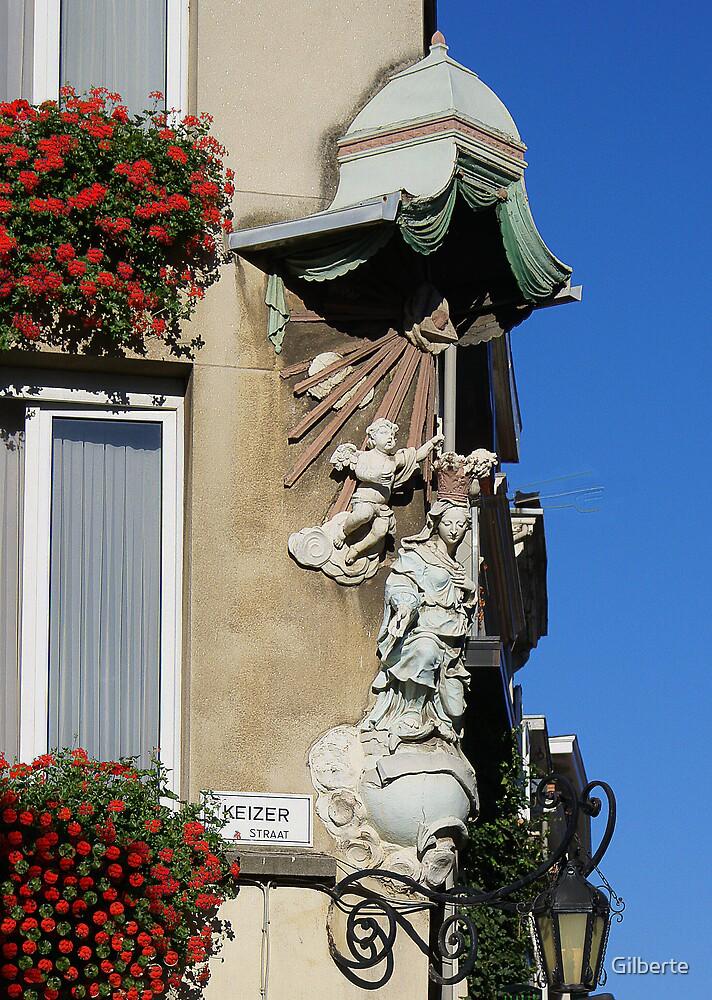 Antwerp - Our Lady Keizerstraat by Gilberte