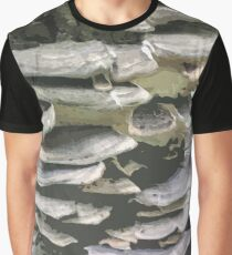 Nature in Abstract - Fungi on Tree Graphic T-Shirt