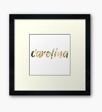 Carolina Framed Print