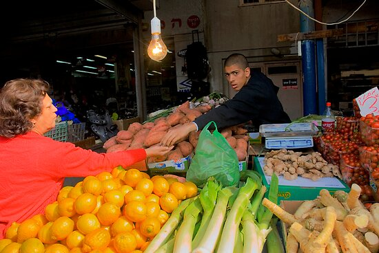 Carmel Market by Eyal Nahmias