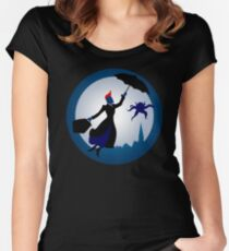 I'm Mary Poppins Ya'll Women's Fitted Scoop T-Shirt