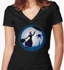I'm Mary Poppins Ya'll Women's Fitted V-Neck T-Shirt
