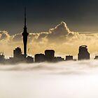 Auckland City Fog  by earlcooknz