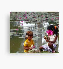lily children Canvas Print