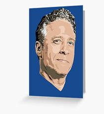 John Stewart of The Daily Show Greeting Card