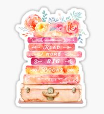 Book Stack Sticker