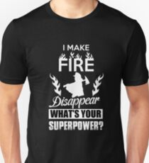 Awesome Firefighter Unisex T-Shirt