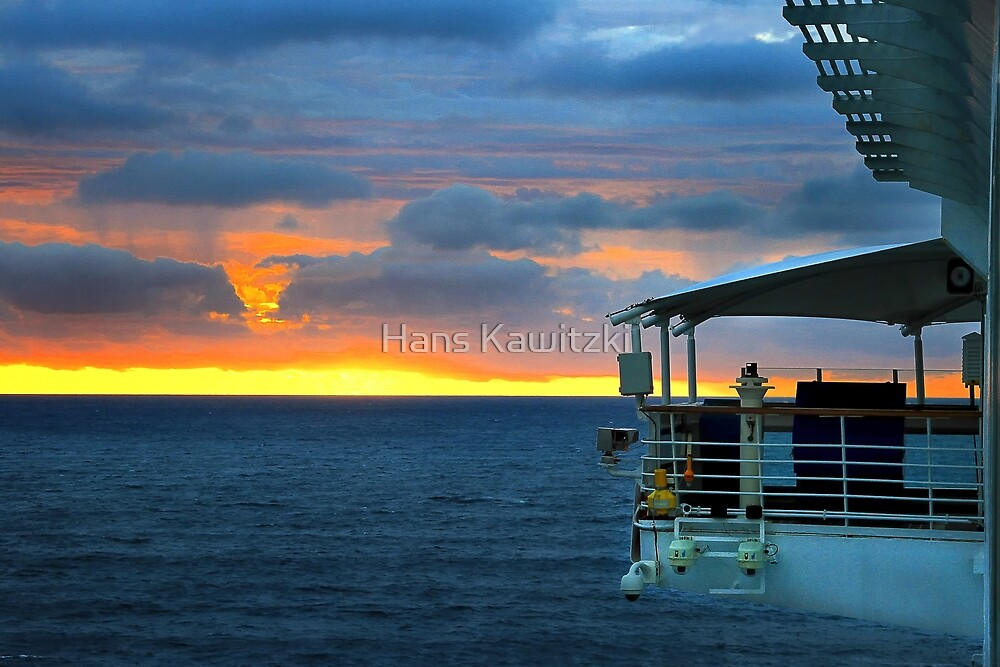 0410 In to the sunset by Hans Kawitzki