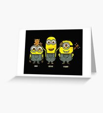 Despicable Me Greeting Card