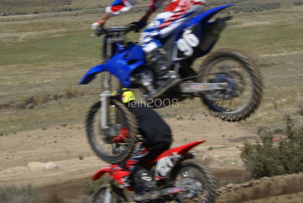 Motocross - Under here; I like this shot for a card; send it to a fellow rider (sorry you're under the weather) by leih2008