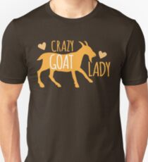Crazy GOAT lady Unisex T-Shirt