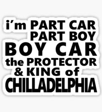 the full Chilladelphia title from resumes and jamiroquai's dad Sticker