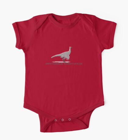 Pixel Ornithomimus Kids Clothes