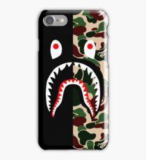 bape shark iPhone Case/Skin