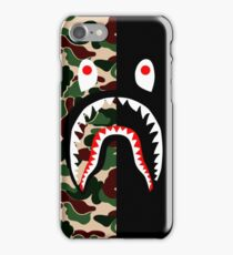 camo shark iPhone Case/Skin
