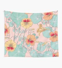 Lily Pond #redbubble #decor #buyart Wall Tapestry