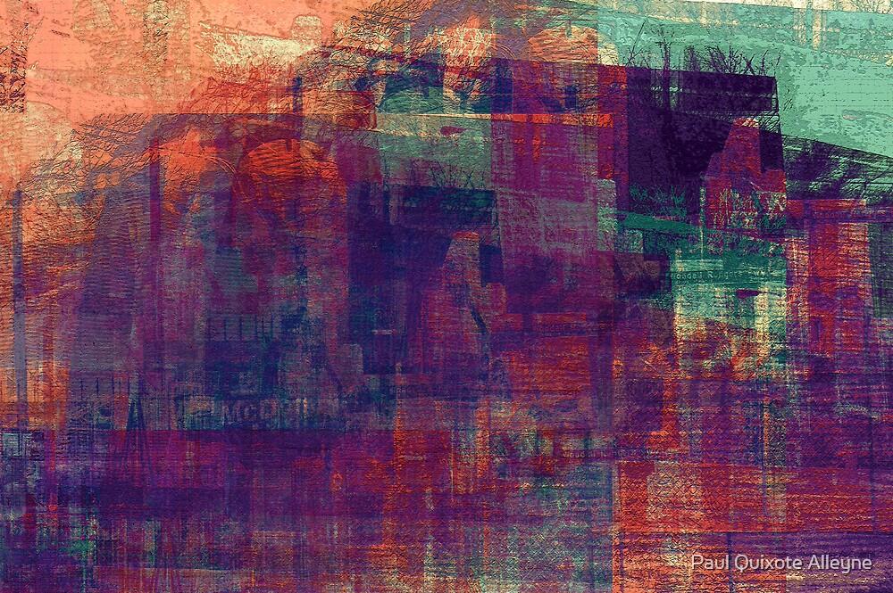 GRITTY GAZE by Paul Quixote Alleyne
