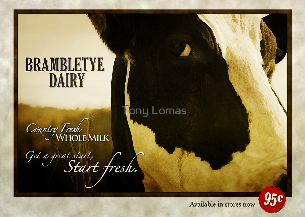 Brambletye Dairy by Tony Lomas