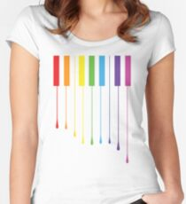 Color Keys Women's Fitted Scoop T-Shirt
