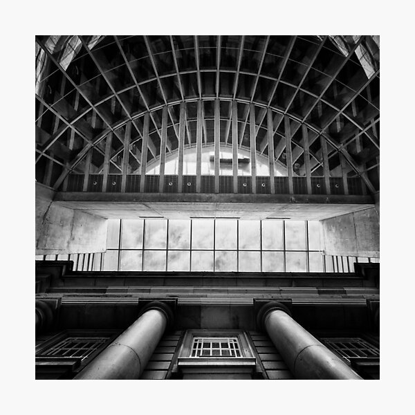 Atriums II - Usher Hall Photographic Print