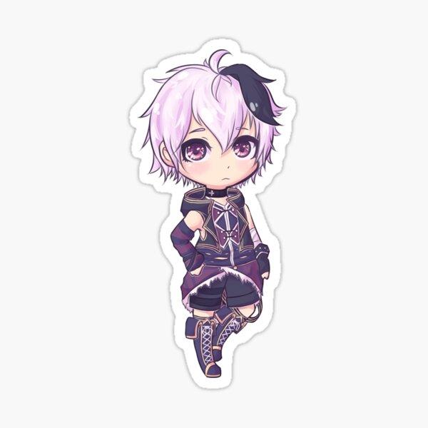 Vocaloid Flower - Chibi Sticker