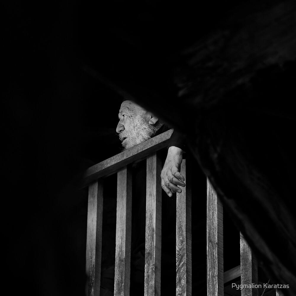 The space between us II - Monastic break by Pygmalion Karatzas