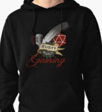Rusty Quill Gaming Logo Pullover Hoodie