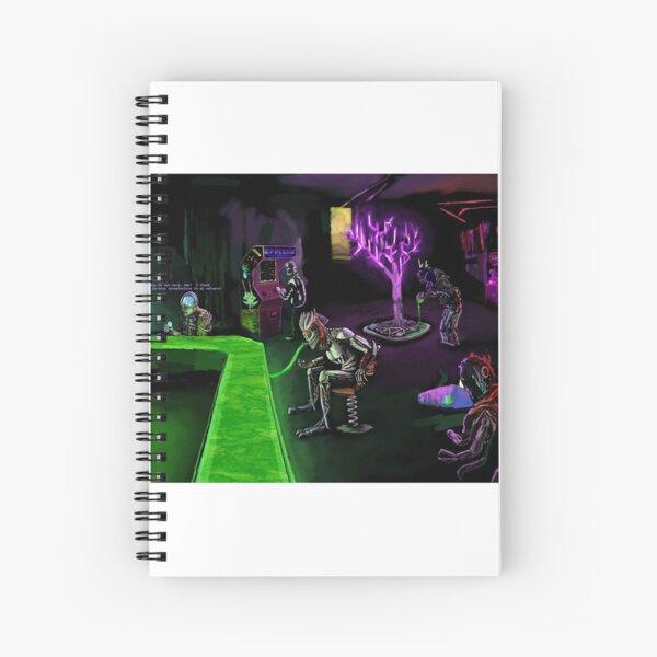 Inside The Arcade Spiral Notebook